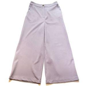 Good Luck Gem Wide Leg High Waist Cropped Pants